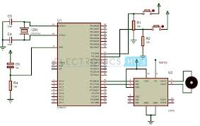 interfacing dc motor 8051 microcontroller interfacing dc motor to 8051 microcontroller circuit diagram
