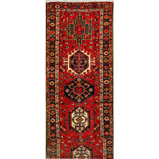2 7 x 22 10 gharajeh 100 natural wool hand knotted persian rug