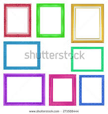 Color Picture Frame Stock Images Royalty Free Images Vectors