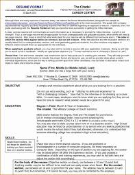 College Resume Format Resumes For High School Students Applying To