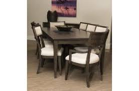 klaussner regency 7 piece rectangular dining room set in rose gold