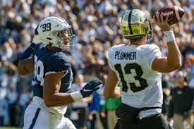 Purdue Reveals Depth Chart Ahead Of Game Vs Maryland Or
