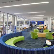 college of interior design. Wonderful Interior City University Of New York Medgar Evers College Library U0026 Welcome Center  Brooklyn NY  Corporate Office Interior Design  With Of