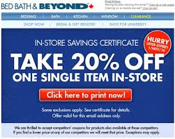 Bed Bath And Beyond Coupon Exclusions Canada