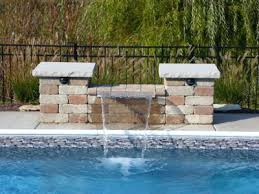 inground pools with waterfalls and slides. Related Post Inground Pools With Waterfalls And Slides