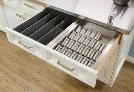 Stainless Utensil Divider, Stainless Drawer Spice Rack