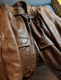 for the leather jacket i used neatsfoot oil it s worth following that link neatsfoot oil is interesting stuff as long as i had the neatsfoot oil out