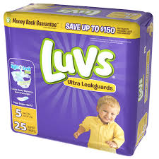 Luvs Ultra Leakguards Diapers Size 5 25 Count Walmart Com