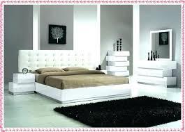 white bedroom furniture design. Contemporary White Bedroom Lacquer Furniture Modern . Design