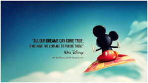 Disney Quotes About Dreams Inspiration Disney Quotes Quotesgram Walt Disney Quotes About Disney World