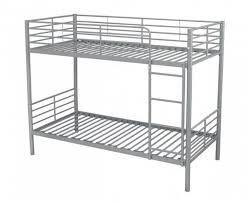 metal bunk bed. Apollo Silver Metal Bunk Bed   Beds (by Bedz4u.co.uk)