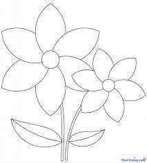 1️⃣Những tranh tô màu hoa, in tranh tô màu bông hoa đẹp nhất ™️  Themusicofstrangers
