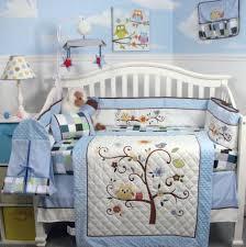 nursery comforter sets bed set owl baby bedding steel factor 8