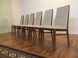 sold dillingham mid century dining chairs set of 6 modern to vine