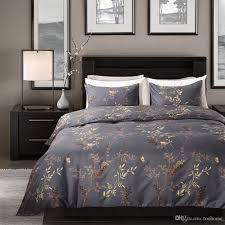 twin queen king duvet cover set boho microfiber fabric home fl duvet covers plant hotel bedding set country style canada 2019 from toohome