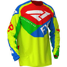 Yellow Blue Green 2020 Fxr Racing Podium Air Jersey Hivis Blue Green Red