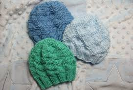 Knit Baby Hat Pattern Circular Needles Impressive Textured Baby Hats Baby Clothing Knitted My Patterns Mama's