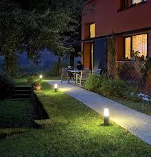 garden bollard lighting. Garden Bollard Light Contemporary Extruded Aluminum Glass Lighting A