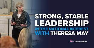 """Conservatives on Twitter: """"Your choice at this election: strong and stable  leadership or a coalition of chaos with Corbyn. RT to let friends you stand  with Theresa May… https://t.co/nglg7MjSzZ"""""""