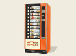 How To Reset A Vending Machine Interesting Action Hunger's Free Vending Machines Feed And Clothe Homeless