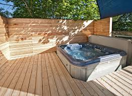 hot tub deck. Hot Tub Deck I