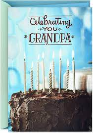 Maybe you would like to learn more about one of these? Amazon Com Hallmark Birthday Card For Grandpa Birthday Cake 599rzb1367 Everything Else