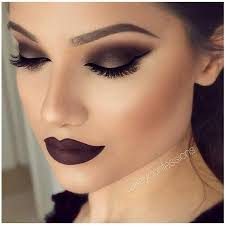 black dress eye makeup for over 50