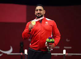 خطاب يتوج بذهبية رفع الأثقال في دورة الألعاب البارالمبية