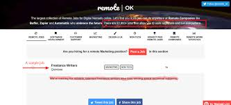 ways to get high paying remote jobs in ia wole ogunlade here is an example of remote job advertised on remoteok for lance writers at a startup called quimbee as you can see there are over 22 000 remote jobs