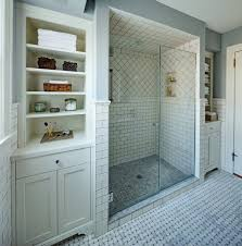 basketweave tile bathroom. Newark Basketweave Tile Bathroom Traditional With Shower Niche Heating And Cooling Companies Gray Grout M