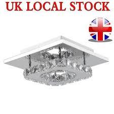 modern square crystal chandelier lights ceiling light for home room bar decor