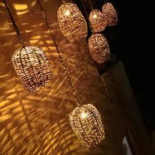 Mexican Basket Lights Mexican Handwoven Basket Lights No Mas Atlanta