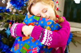 Image result for images of giving christmas gifts to kids