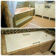 average cost to refinish bathtub protecting your remodel first class satisfied customers bathtub refinishing average cost