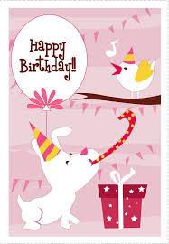 Happy Birthday Greeting Cards Printable Birthday Card Printable 100s