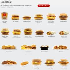 Mcdonalds Breakfast Menu Nutrition Chart The Mcdonalds Breakfast Picture Menu Mcdonalds Breakfast