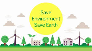 Essay on Save Environment Save Earth for Students & Children (1300 W)
