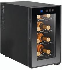haier wine cooler. haier hvtm08abs 8 bottle wine cooler a