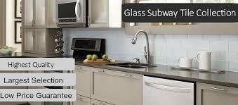 glass subway tiles