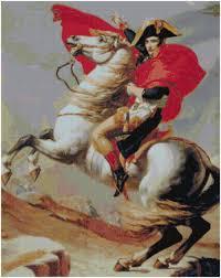 Professione Donna: Schema per il punto croce: Napoleone Bonaparte