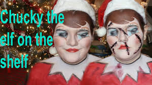 chucky the elf on the shelf makeup tutorial