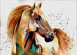 chinese brush painting horses google search