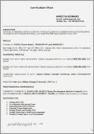 Resume Examples For Limited Work Experience Beautiful Photography 23