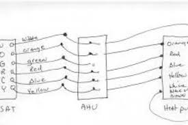 for a trane heat pump thermostat wiring diagram dometic a c 8 wire thermostat at Trane Thermostat Wiring Color Code