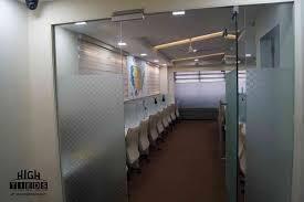 office glass door design. Office Glass Partition Door Work Station Design Exclusive Pop HighTieds Interior Ahmedabad