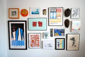 gallery wall inspiration on wall art gallery frames with how to create a gallery wall on a budget apartment therapy
