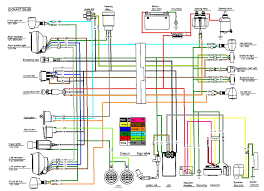I'm not going to run blinkers. 150cc Gy6 Scooter Wire Harness Diagram Wiring Diagram Tell Explorer A Tell Explorer A Pmov2019 It