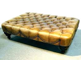 square leather ottoman coffee table design square leather ottoman coffee table square faux leather coffee table round leather ottoman