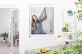 Fliegengitter Fenster Mit Klettband 10er Set Schwarz 130 X 150