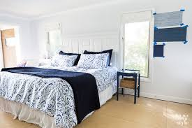 Decorating Plan for My Casual Blue & White Bedroom | In My Own Style